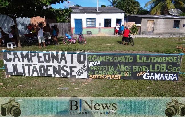 Abertura do IV Campeonato do Lilitão agita o final de semana em Belmonte.