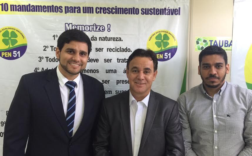 Jovem belmontense assume cargo de Procurador Geral da Diretoria Jurídica do partido PEN na Bahia.