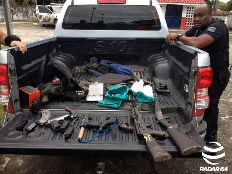Operação policial em Santa Cruz Cabrália acaba com 08 integrantes de facção criminosa mortos.