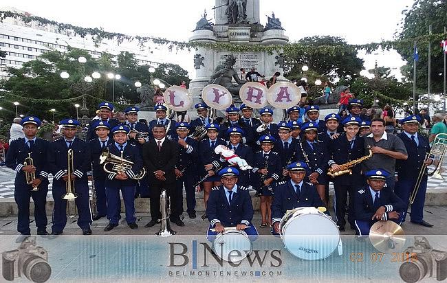 Filarmônica Lyra Popular participa da Orquestra Regional da Costa do Descobrimento.
