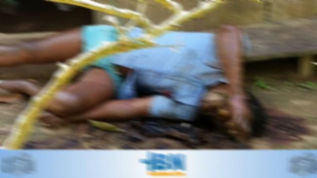Corpo em decomposição e com marcas de golpes de facão é encontrado em Belmonte..