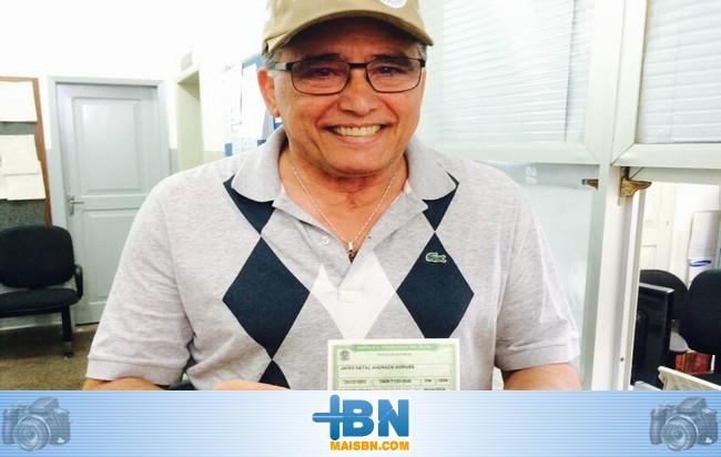 Jânio Natal anuncia que revelará os nomes de prefeito e vice no próximo dia 27/07 em Barrolândia.