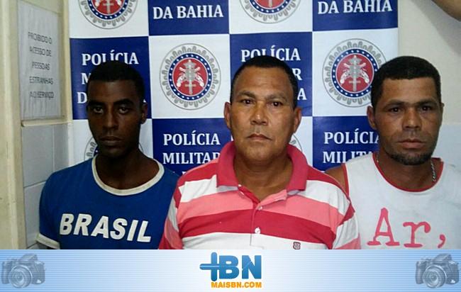 Operação policial prende três e acaba com festa de facção criminosa em Belmonte.