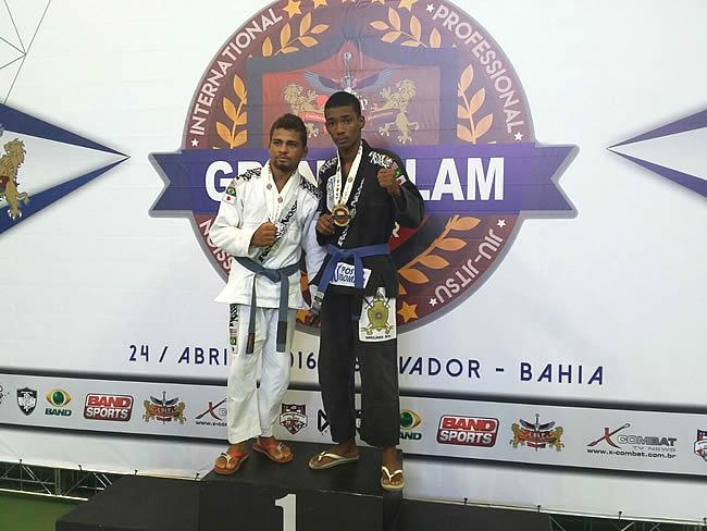 Atleta belmontense brilha no Grand Slam Internacional de Jiu-jítsu Profissional realizado em Salvador.