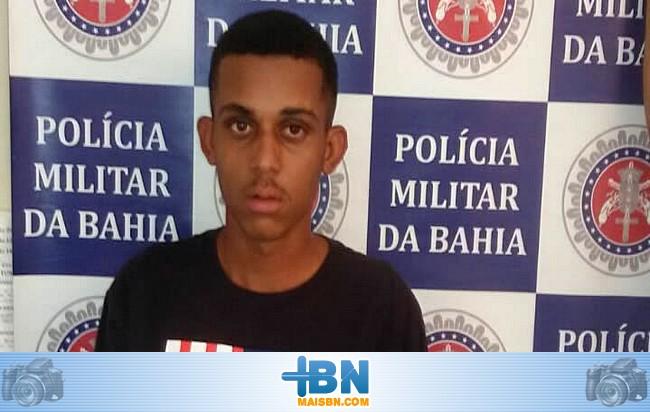 Policia Militar leva para as grades homem acusado de ser um dos chefes do tráfico em Barrolândia.