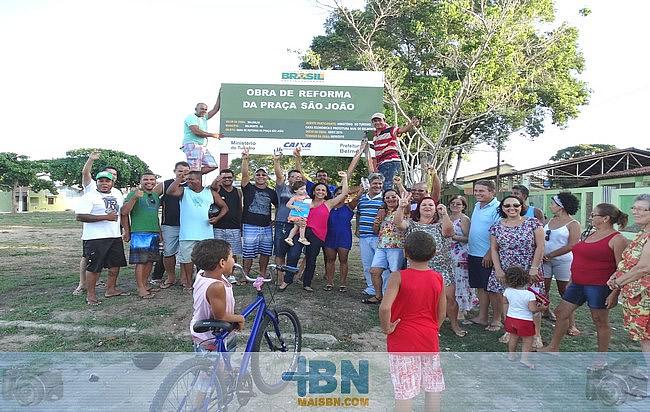 Prefeitura de Belmonte dá pontapé inicial para obras das Praças da Matriz e São João.