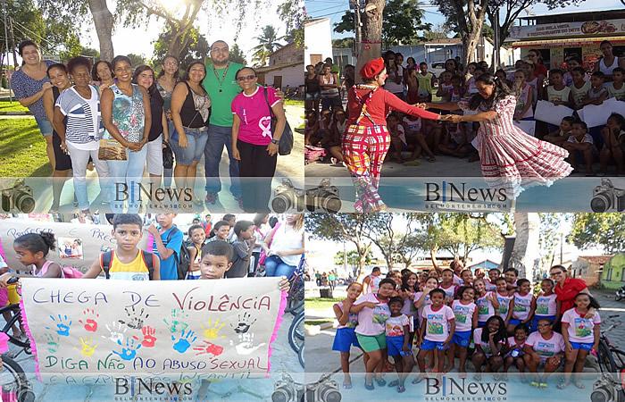 Grande evento marca o Dia 18 de Maio em Belmonte, Stª Maria Eterna, Barrolandia e Boca do Córrego.