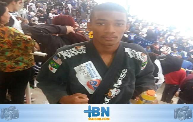 Atleta belmontense fica em 5º lugar no Campeonato Brasileiro de Jiu-jítsu.