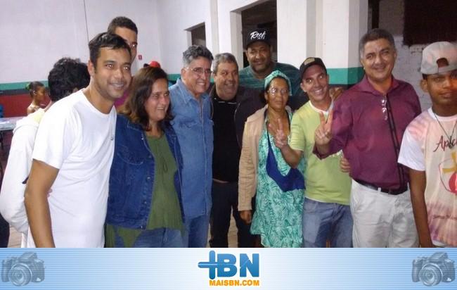 Deputado Jânio Natal visita Associação Zumbi dos Palmares e conversa com lideranças.