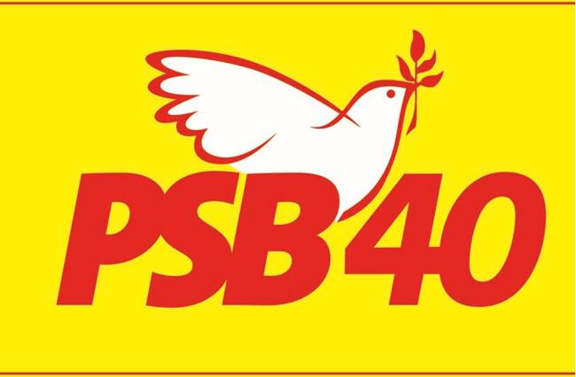 PSB-40 e partidos coligados marcam convenções para o próximo dia 31/07.
