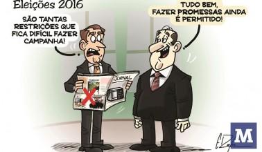 Candidatos a prefeito e Vereador terão que se adequar aos limites de gastos exigidos pela Lei Eleitoral.