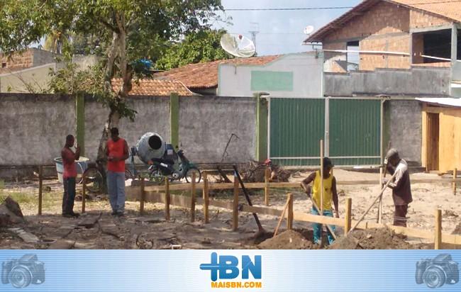 Começam as obras de ampliação da emergência do Hospital Dr. José da Costa Pinto Dantas.