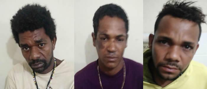 Operação Policial prende três acusados de realizar assaltos e furtos em Belmonte.