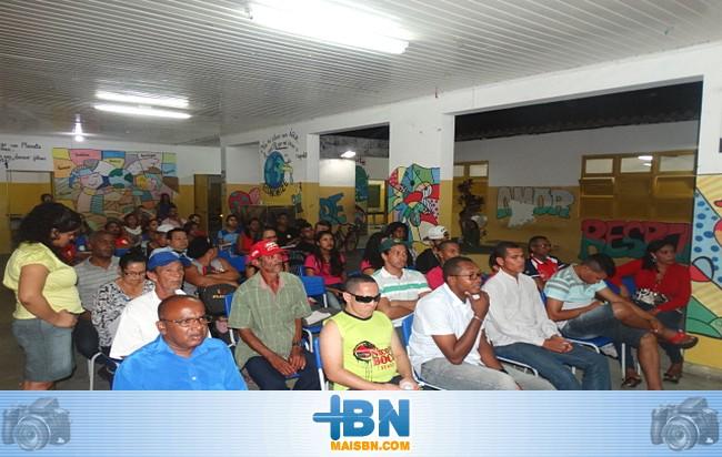ADEFIBA realiza evento em Barrolândia para discutir a preservação do Córrego de Ouro.