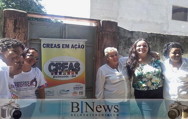 CREAS-Belmonte realiza o Projeto Interagir com as famílias atendidas pelo Serviço.