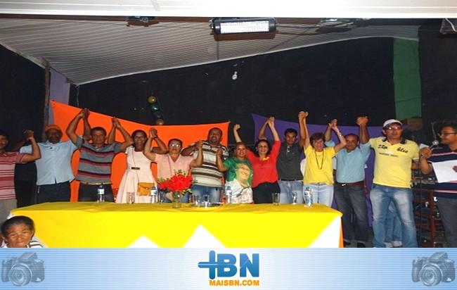 Alice Britto e candidatos a Vereador aliados participam de reunião em Barrolândia.