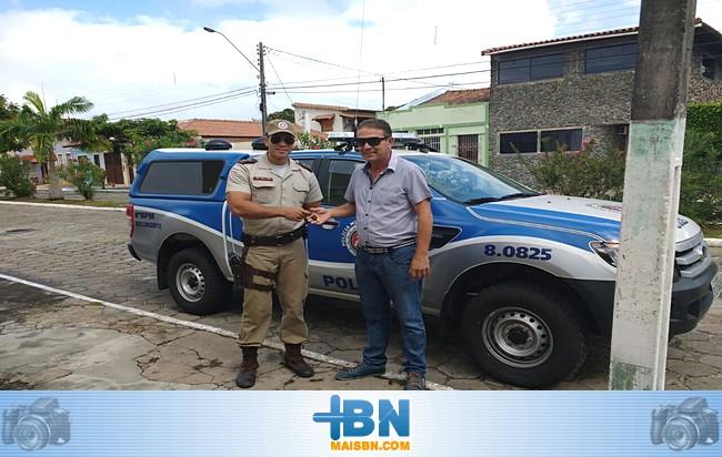 Polícia Militar de Belmonte ganha nova viatura para as rondas ostensivas na cidade.