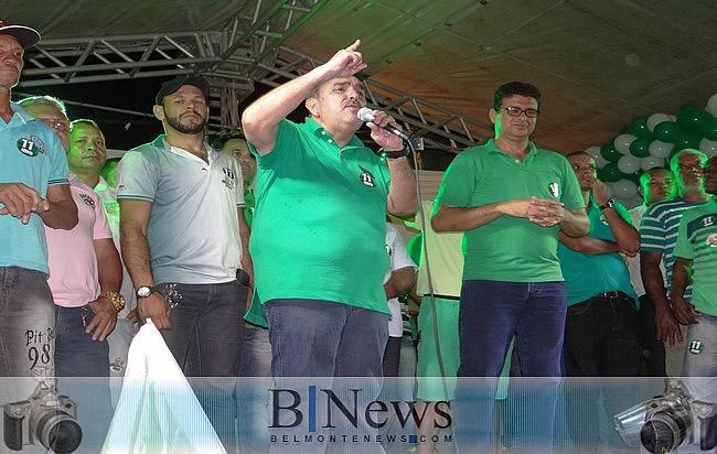 Coligação 'Por uma Belmonte que Queremos' realiza primeiro comício em Barrolândia.