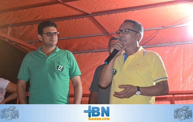 Candidato a Vereador Jorge Passos inaugura comitê em Santa Maria Eterna.