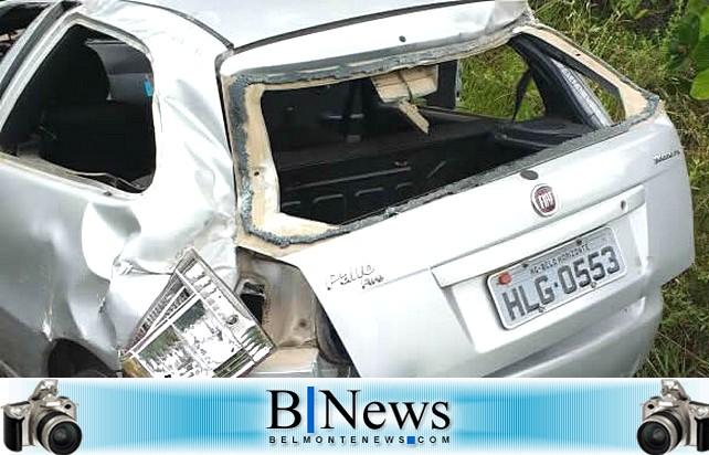 Jovem de 26 anos morre em acidente na BA-001, próximo ao distrito de Mogiquiçaba.