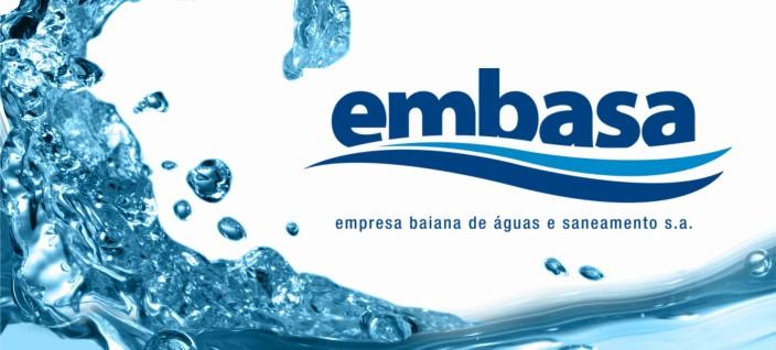 EMBASA informa interrupção do fornecimento de água em Belmonte.