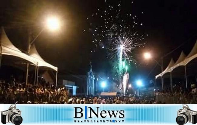 Grande evento marcou os festejos em homenagem a São Sebastião em Belmonte.