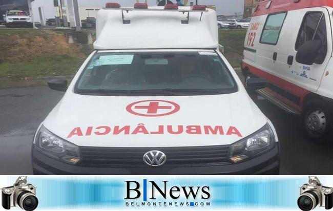 Deputado Estadual Jânio Natal consegue mais uma nova ambulância para Belmonte.