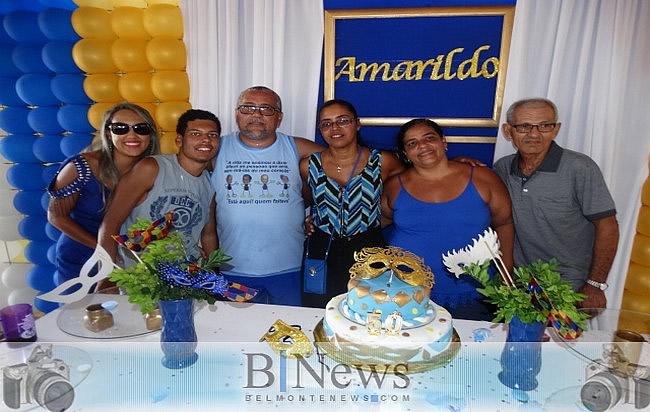 Grande evento marca os 50 anos de aniversário de Amarildo da Farmácia.
