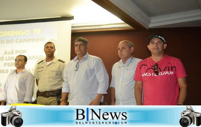 Prefeitura de Santa Cruz Cabrália faz o lançamento oficial do Carna Cabrália 2017.