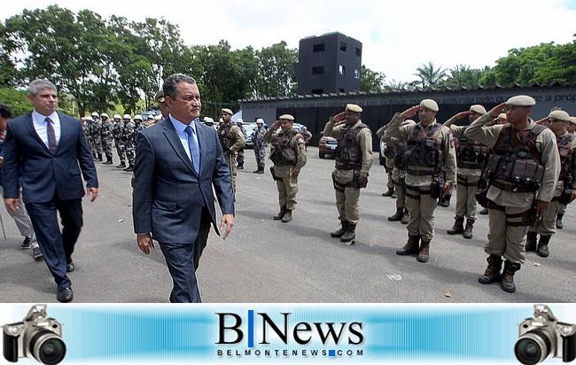 Governador anuncia projeto de modernização da lei de promoções da Polícia Militar.