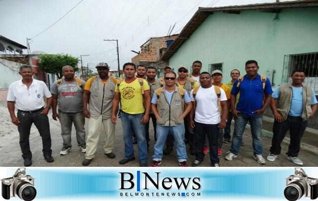 Agentes de Endemias realizam mutirão de Combate a Dengue em Barrolândia.