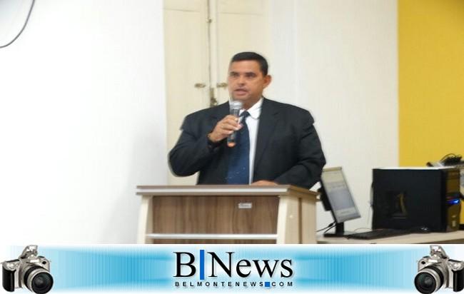 Vereador Alfredo expõe seu direcionamento político e pede reativação do serviço 190 em Belmonte.