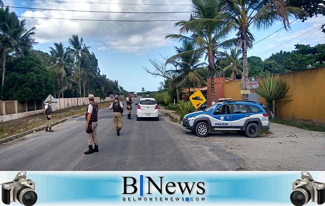 8º Batalhão reforça policiamento em Barrolândia e realiza várias operações ostensivas.