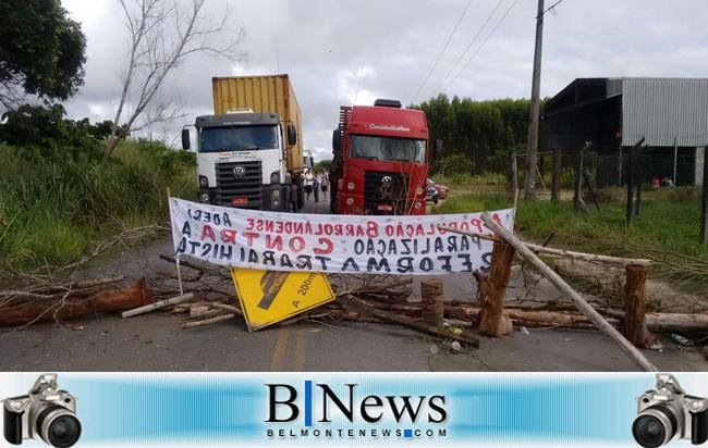 Costa do Descobrimento adere à Greve Geral contra as reformas do Governo Temer.