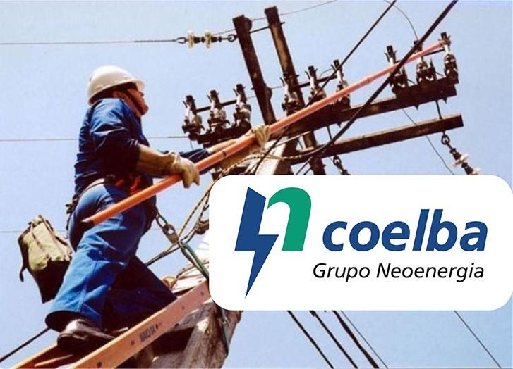 Coelba informa desligamento desligamento da rede elétrica em Santa Maria Eterna.