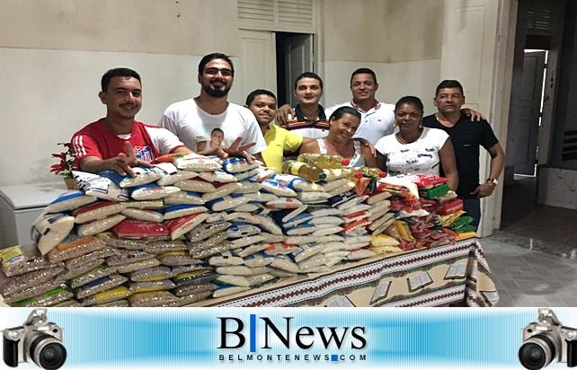 Jogo beneficente arrecada 200Kg de alimentos para o Abrigo São Vicente.