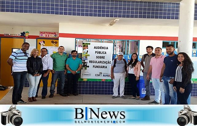 Prefeitura de Belmonte realiza segunda Audiência Pública de Regularização Fundiária em Barrolândia.