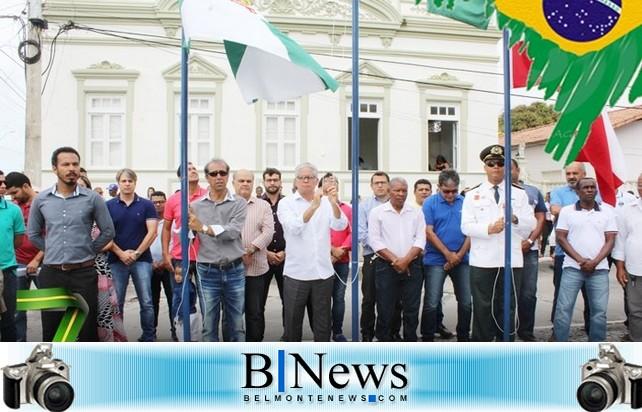 Desfile cívico e inauguração da nova sede da Secretaria de Saúde marcam o 7 de setembro em Belmonte.