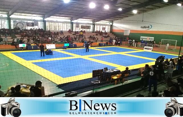 Atletas belmontenses brilham no Campeonato Baiano de Jiu-Jítsu.