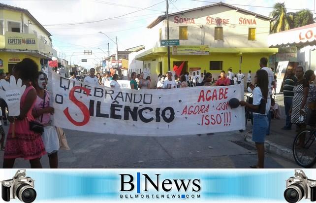 Igreja Adventista do 7º Dia realiza passeata contra a violência sexual em Belmonte.
