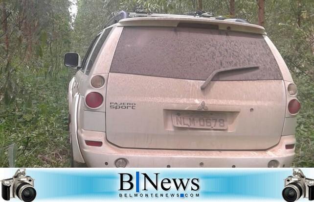 Encontrada em Barrolândia caminhonete que pode ter sido usada no assalto em Itagimirim.