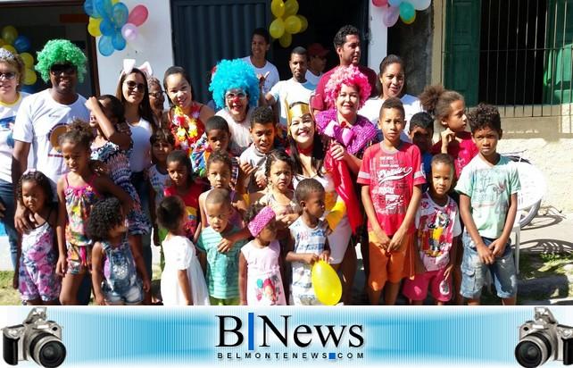 Funcionários do Posto do Bom Jardim promovem linda festa para as crianças do bairro.