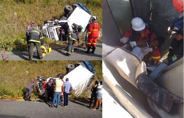 Motorista do Carro do Lixo acidentado em Belmonte não tinha habilitação adequada.