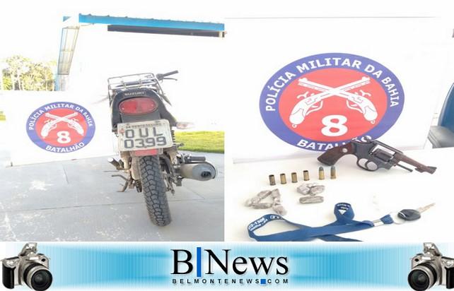 Suspeito de tráfico é morto em confronto com a Policia Militar em Cabrália.