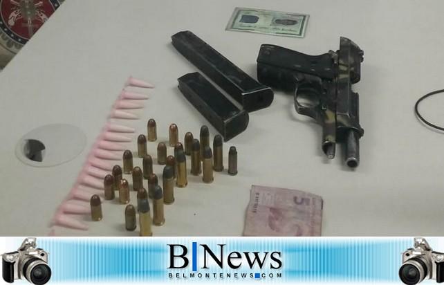 Bandido morre em confronto com a Polícia Militar no Bairro Pindorama em Porto Seguro.
