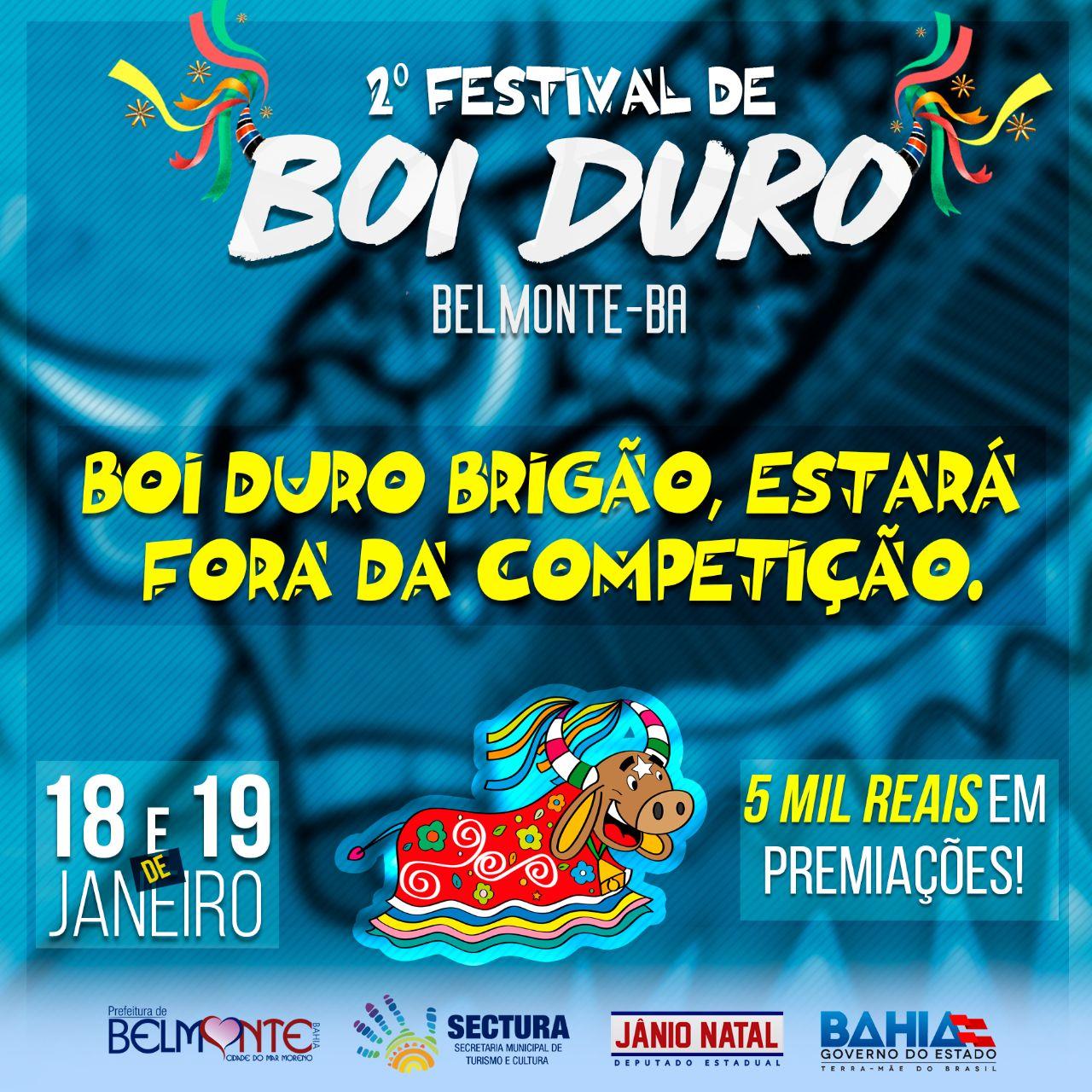 Reunião decide as medidas de segurança que serão adotadas no 2º Festival de Boi Duro de Belmonte.