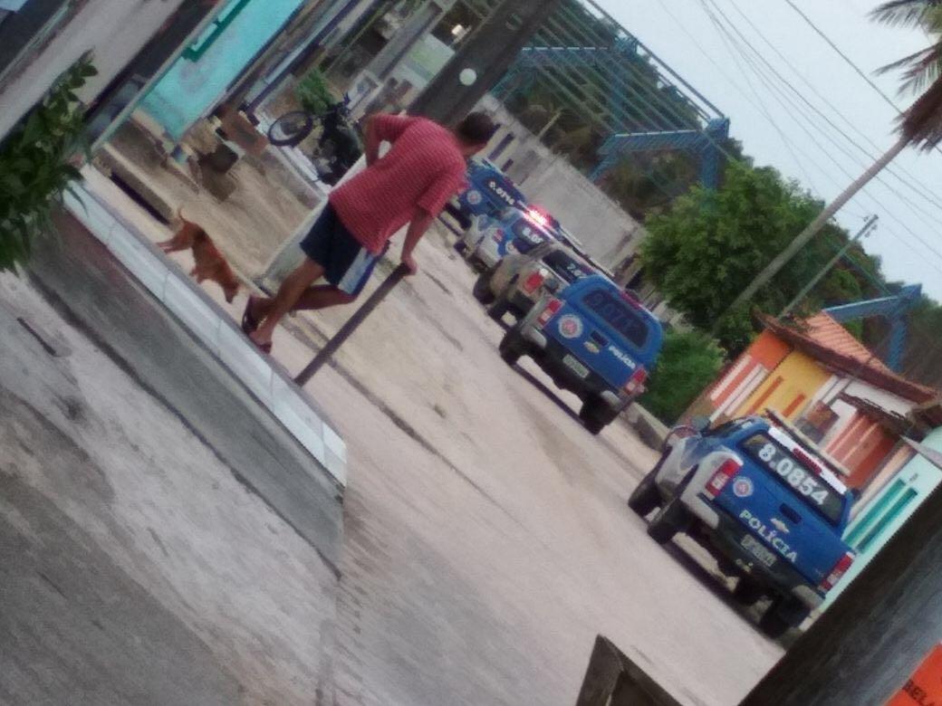 Polícia Militar realiza ações de combate ao tráfico de drogas em Barrolândia e Belmonte.