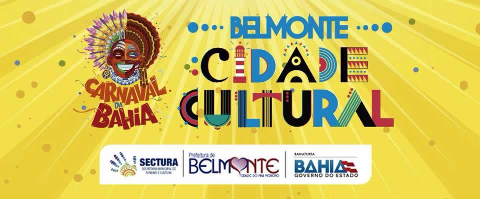 Prefeitura divulga programação dos blocos de carnaval em Belmonte.