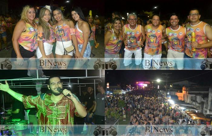 4ª noite do Carnaval 2018 em Belmonte é marcada por muita alegria e animação.