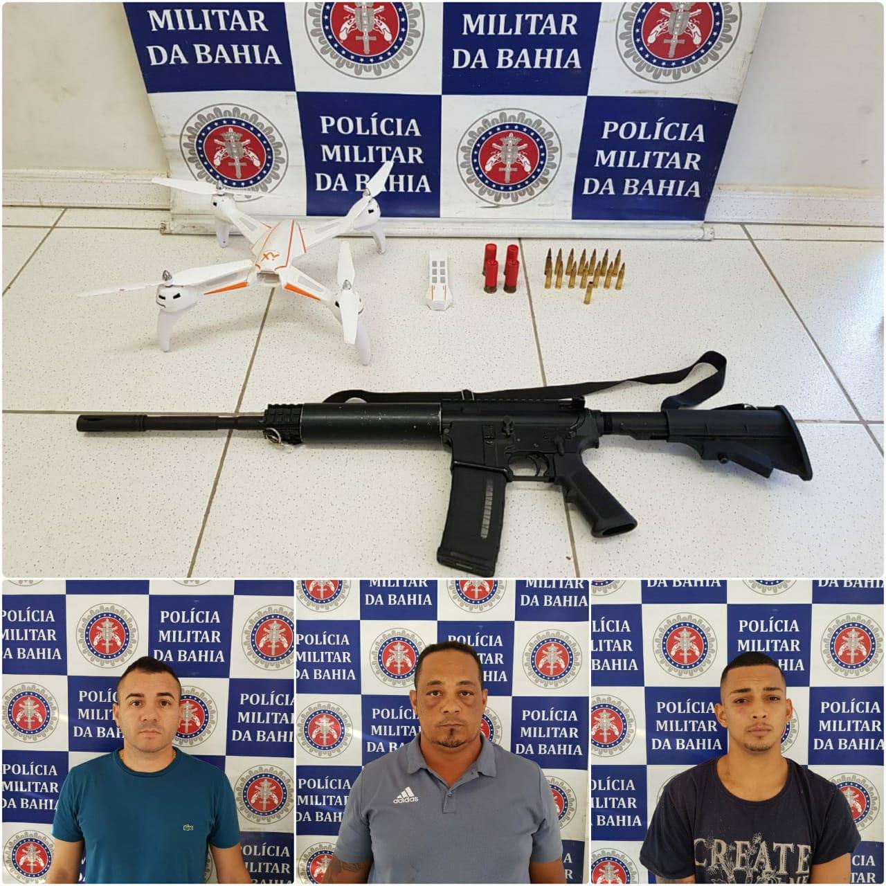 Resultado de imagem para Policia Militar prende quadrilha fortemente armada na Orla Norte de Porto Seguro